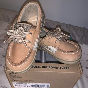 Sperry bluefish boat shoe child size 4 (12-18mos)